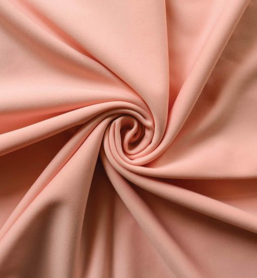 Poly Stretch Drape Blush