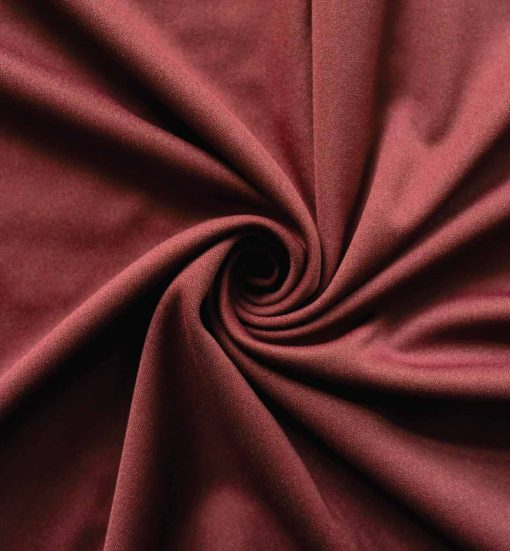 Poly Stretch Drape Burgundy