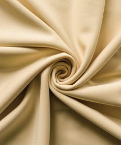 Poly Stretch Drape Champagne