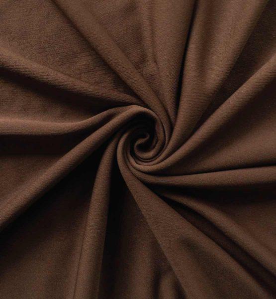 Poly Stretch Drape Chocolate