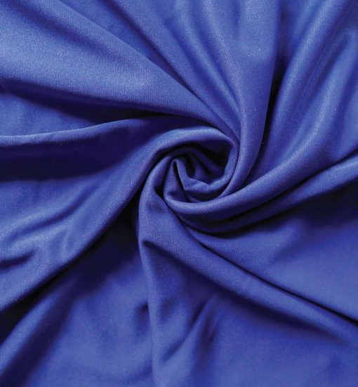 Poly Stretch Drape Expo Blue