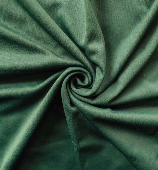 Poly Stretch Drape Hunter Green