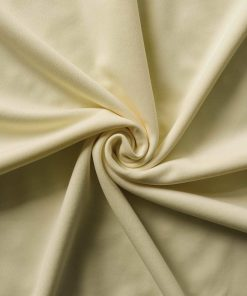 Poly Stretch Drape Ivory