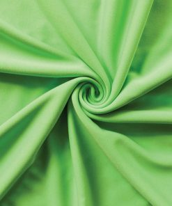 Poly Stretch Drape Lime Green