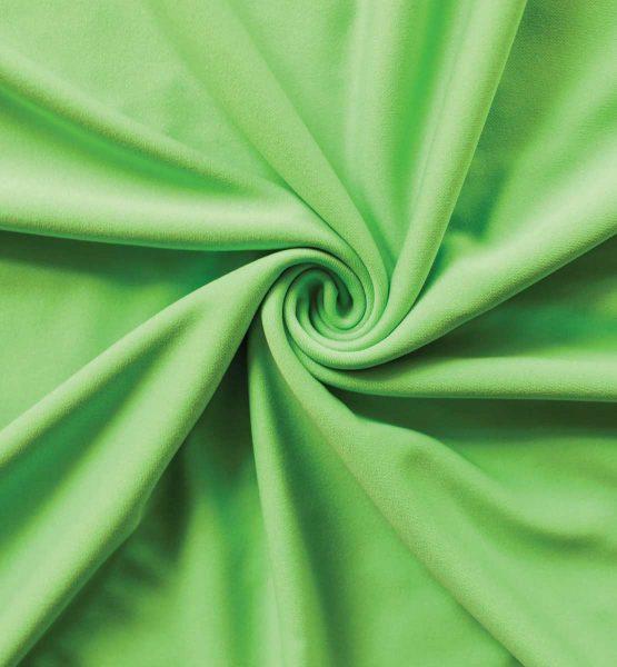 Poly Stretch Drape Lime Green