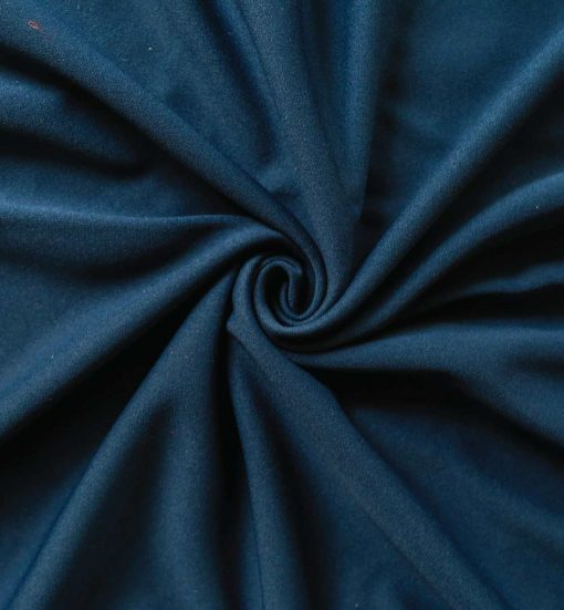 Poly Stretch Drape Navy Blue