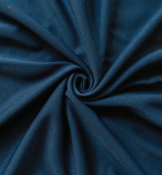Poly Stretch Drape Navy Blue