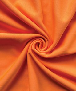 Poly Stretch Drape Orange