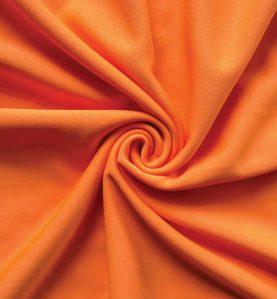 Poly Stretch Drape Orange