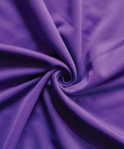 Poly Stretch Drape Violet