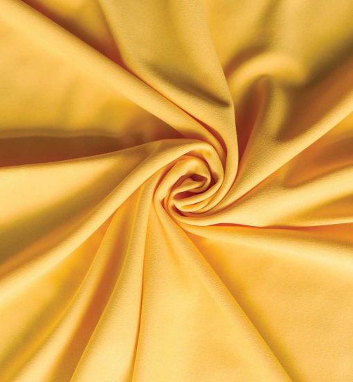 Poly Stretch Drape Yellow