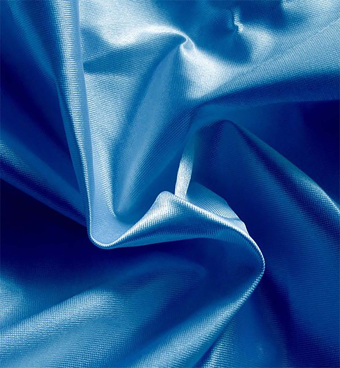 Poly Knit Drape Royal Blue