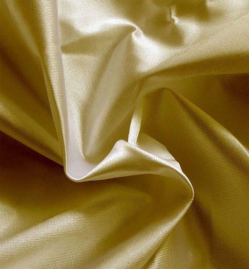Poly Knit Drape Spun Gold