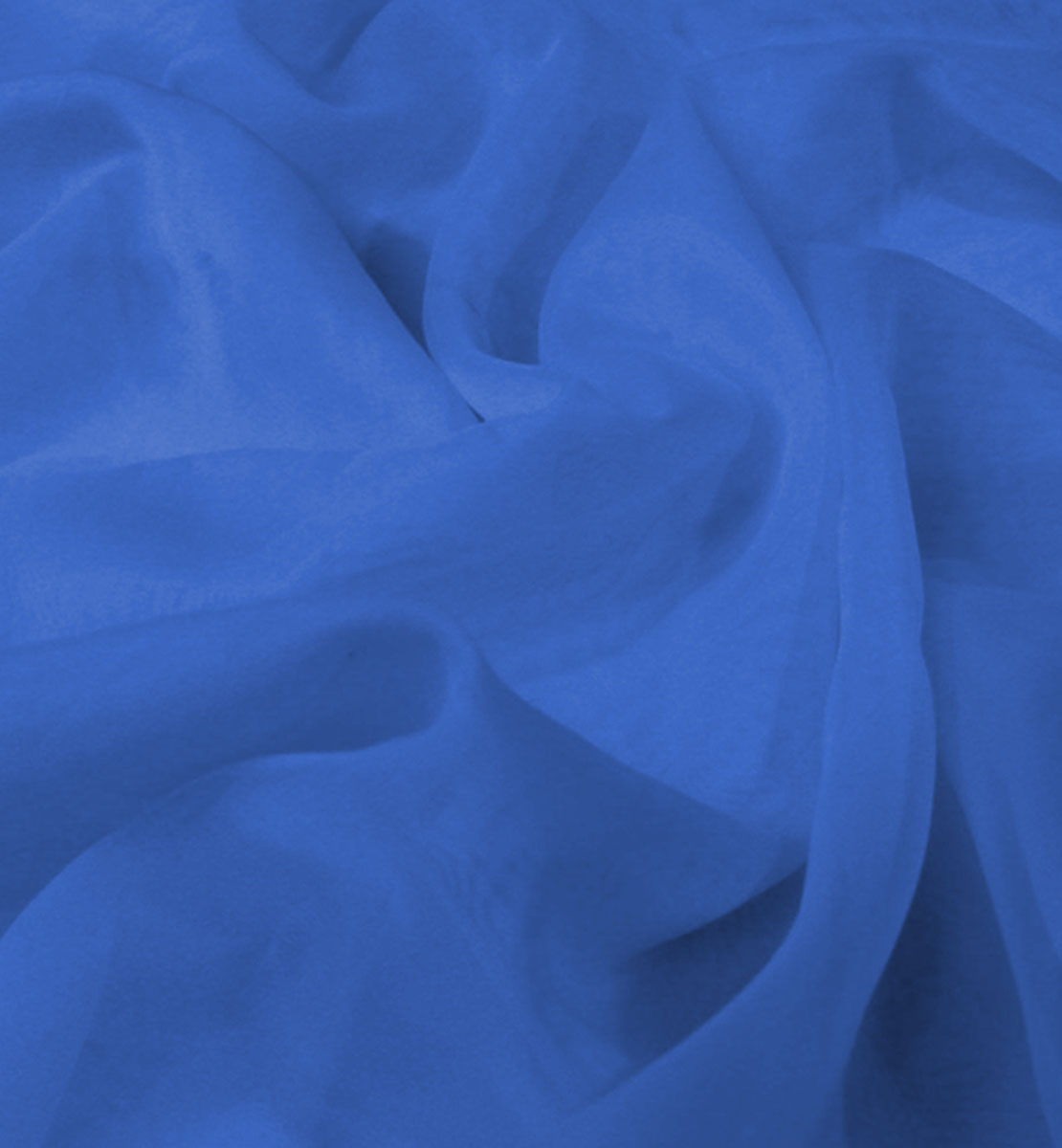Sheer Drape Royal Blue