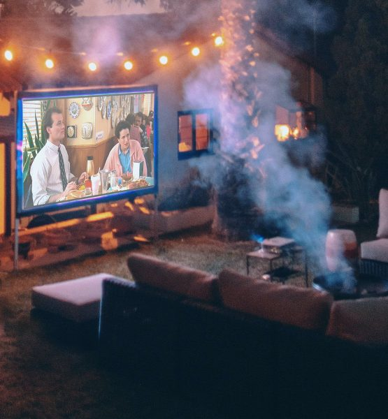 Portable Projection Screen Kit