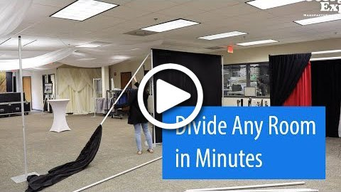 Portable Room Divider Video