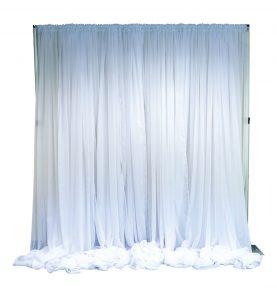12 ft. sheer posh drape kit