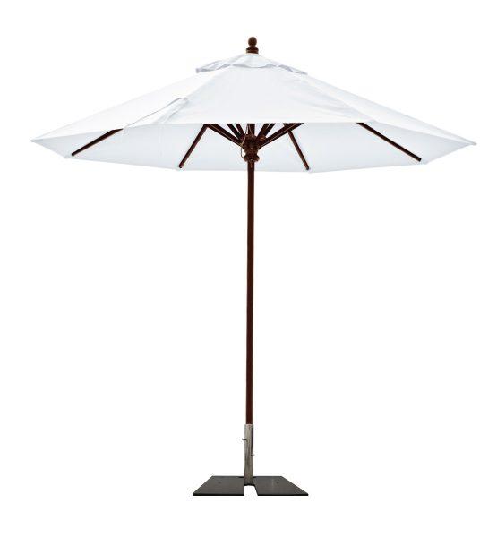 umbrella with umbrella holder