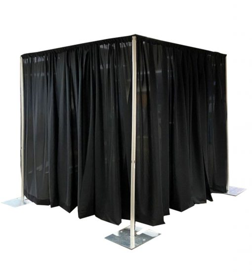 Pipe and Drape Room Kit