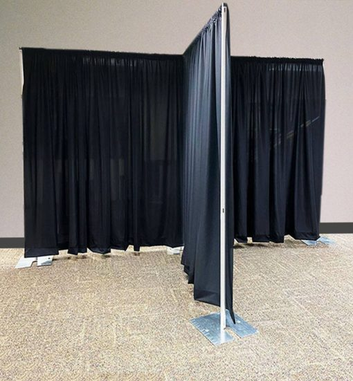 Portable Pipe and Drape Room