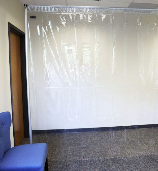 Any size social distancing Vinyl Panel