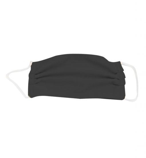 Fabric Tri-Fold Masks Black