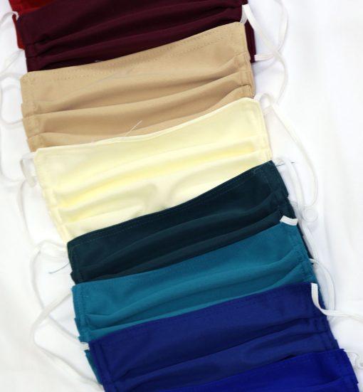 Fabric Tri-Fold Masks