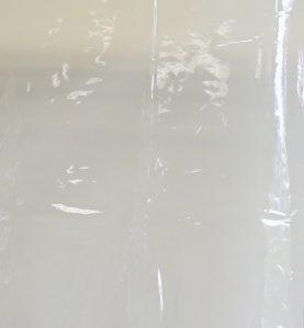 Clear Vinyl Close Up