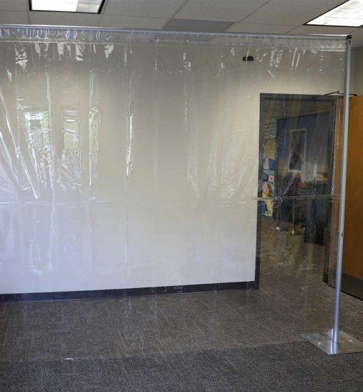 Clear Vinyl Divider Panels