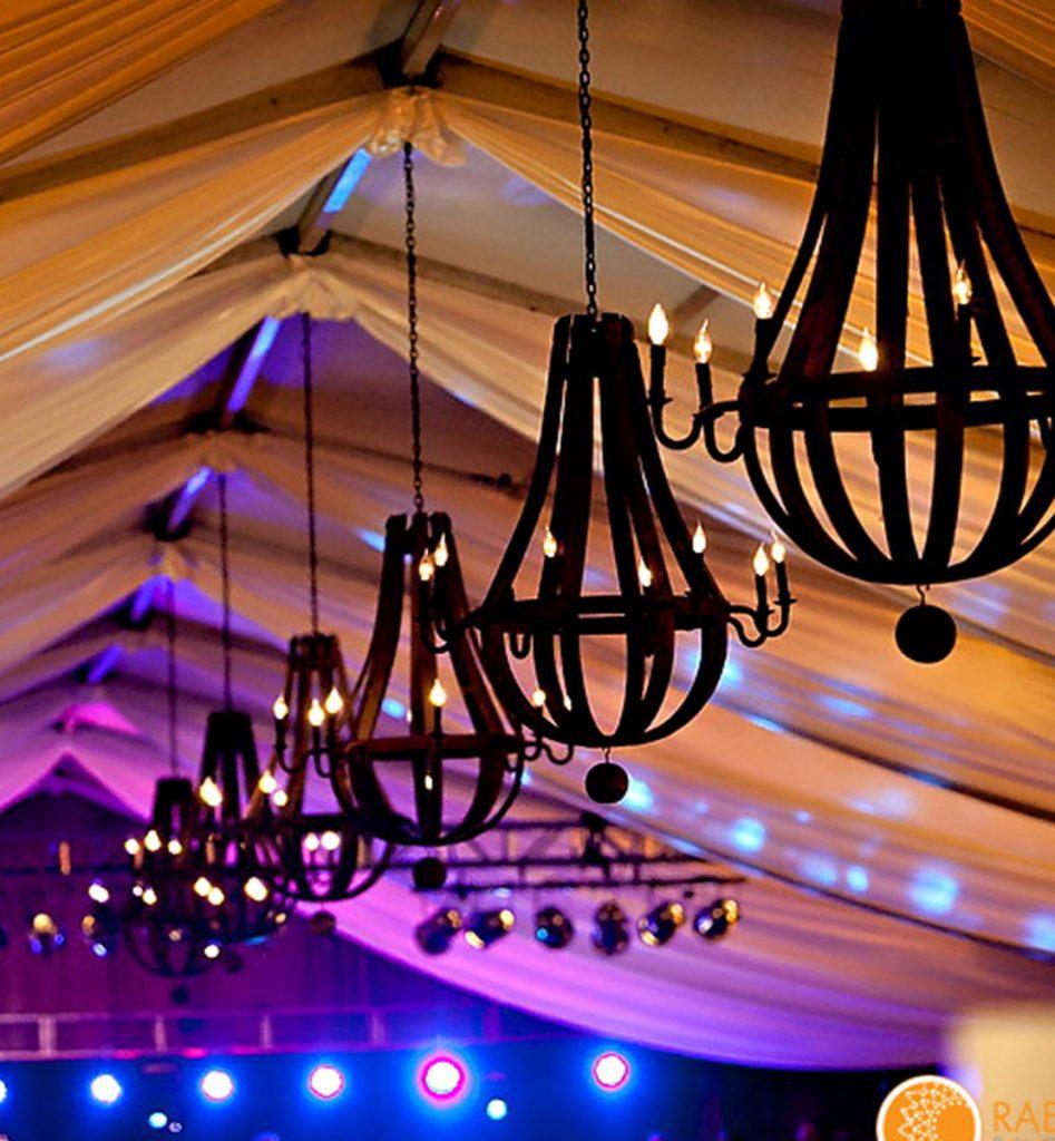 Elegant Tent Drape