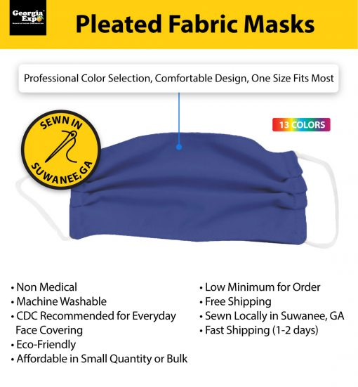 Pleated Mask specs