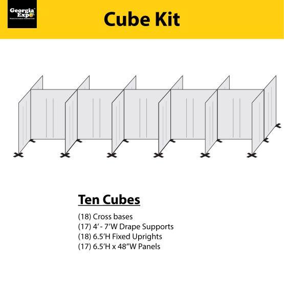 back to back cube kits