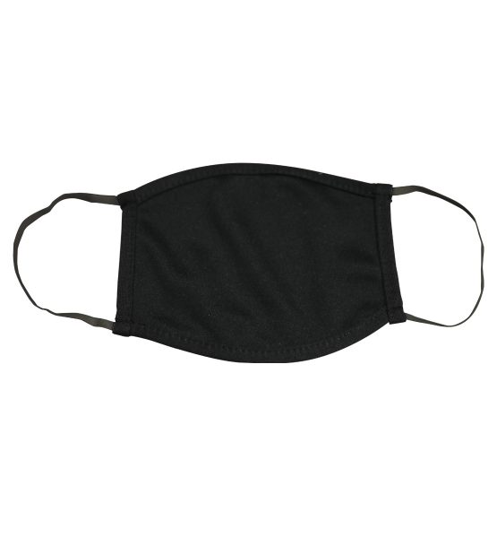Poly Stretch Mask Black