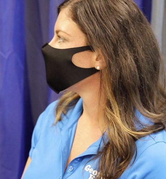 Sleek Fabric Face Mask