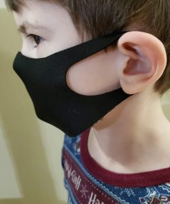 sleek mask in use kids side view