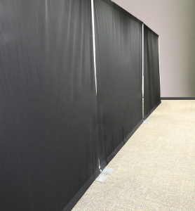 30ft. drape soft wall