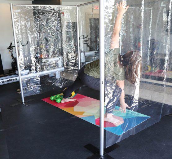 Gym Workout Pod