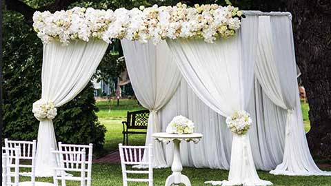 Pipe and Drape Wedding Kits