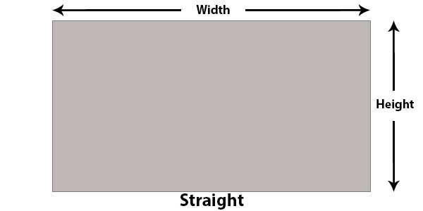 straight wall