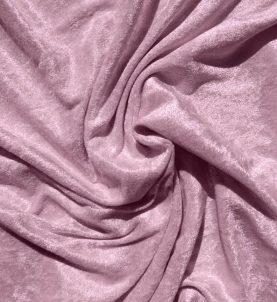 Velvet Stretch Drape Pale Pink