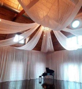 ceiling drape gallery