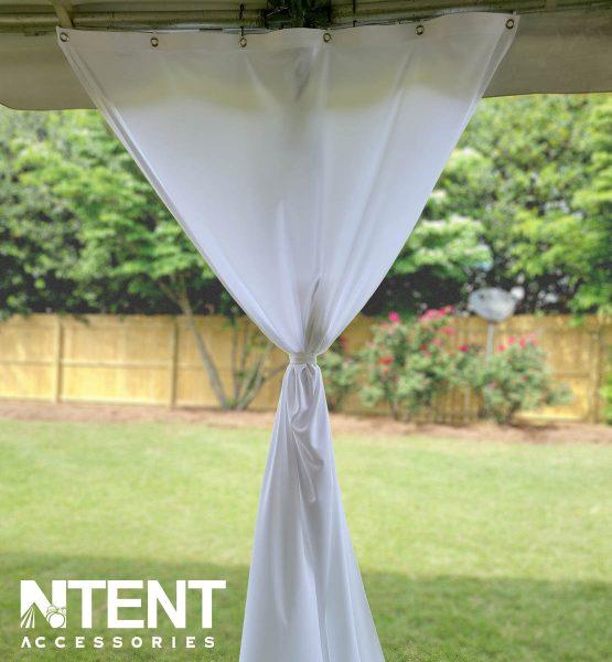 Tent Pole Drape